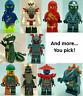 Lego Minifigures Ninjago YOU CHOOSE