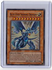 Blue Eyes Shining Dragon MOV-EN001 YuGiOh Movie Promo Card Holo Super Rare