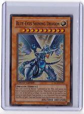 Blue Eyes Shining Dragon MOV-EN001 YuGiOh Movie Promo Card Holo Super Rare