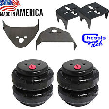 """Rear Weld On Air Ride Mounting Brackets 2500lb Air Bags Suspension 3.25""""axle"""
