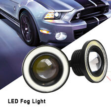 2x 3'' LED Car Halo Rings Angel Eyes Fog Lights for Ford Focus Fiesta Mondeo ANG