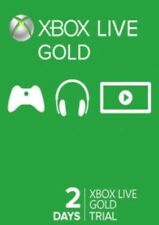 Xbox Live Gold Trial Code XBOX LIVE 2 Days GLOBAL XBOX 360 & XBOX ONE