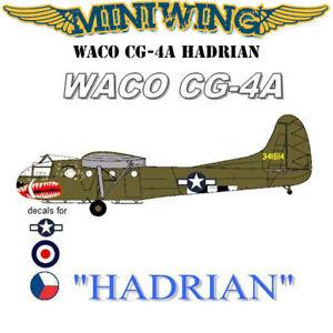 1/144 Miniwing Hadrian Waco CG-4A USA RAF Czech Air Forces - Resin Model Kit
