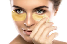 x10 PAIRS COLLAGEN GOLD EYE MASKS- BOOSTED INGREDIENTS FOR RESULTS  Includes Tin