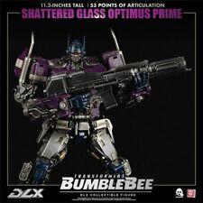 ThreeZero 3a Shattered Glass Optimus Prime DLX 1/6 Limited Ed. RARE