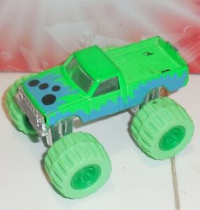 Road Champs Green PICK UP Monster Truck Vintage 1987