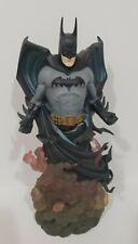 DC DIRECT DYNAMICS: BATMAN STATUE #487/2500 MIB!! JLA DARK KNIGHT Rises Figure
