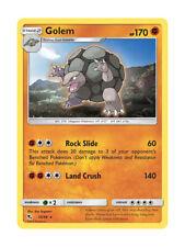 Golem 35/68 Rare Pokemon Card TCG - Hidden Fates Shiny Vault - New & Mint