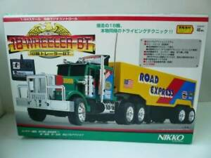 【AS-IS】NIKKO RADIO CONTROL CAR 18 WHEELER TRAILER BT 1/24 SCALE