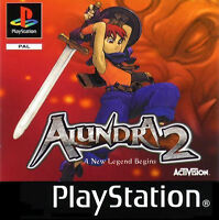 Alundra 2: A New Legend Begins (Sony PlayStation 1, 2000) European Version