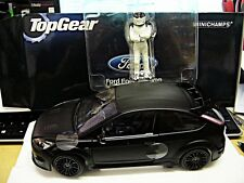 FORD Focus rs500 RS 500 2010 MATT BLACK NERO TOP GEAR NEW Minichamps 1:18