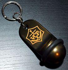 Champagne Veuve Clicquot Ponsardin: Key Chain, Hotel Key Model, 2 sided logo NEW