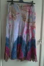 Lades Beautifull gypsy/ boho skirt. Size 30 inch waist.