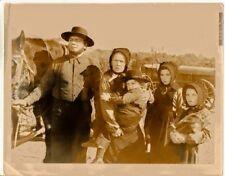 Antique Vintage Original Movie Photograph Ernest Borgnine Prairie Outfits 1930's