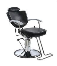 Black Fashion All Purpose Hydraulic Recline Barber Salon Shampoo Haircut Chair +
