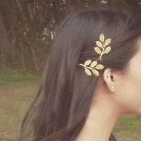 1Pcs Accessories Hairpin Bobby Barrette Girls Hair Fashion Clip Women Leaf Pin