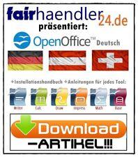DOWNLOAD OpenOffice Premium kompatibel zu Word Excel PowerPoint Access Visio NEU