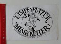 Aufkleber/Sticker: Lampenputzer Musikkeller - Live-Musik Koblenz (200217110)