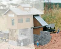 PIKO G SCALE GRAVEL WORKS SIDE BUILDING | BN | 62010