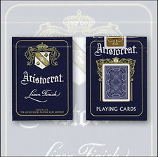 Bicycle Aristocrat 727 Bank Note Cards (Blue) Deck by USPCC and Murphy's Magic