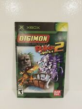 Digimon: Rumble Arena 2 (Microsoft Xbox, 2004)Instruction Booklet ONLY