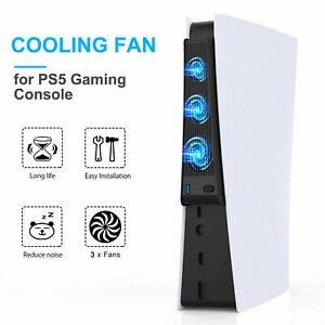 Host Cooling Fan External Cooler Accessories For PS5 Play Station 5 Game Console