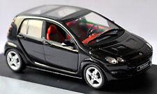 Smart Forfour W 454 2004-06 Jack Black / Negro 1:43 Schuco