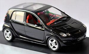 Smart Forfour W 454 2004-06 Cric Noir/Noir 1:43 Schuco