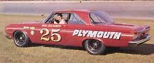 #25 Paul Goldsmith 1964 Plymouth 1/32nd Scale Slot Car Decals