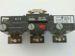 General Electric TJK636T350 3p 350a 600v Trip Unit NEW 1-yr WARRANTY