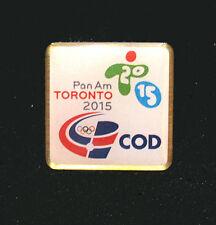 TORONTO 2015 Pan Am Olympic Games LT Dominican Republic NOC delegation team pin
