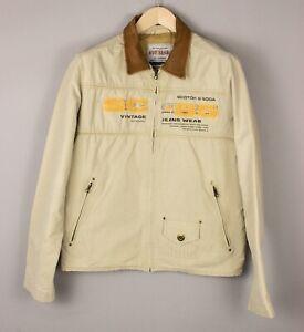 SCOTCH & SODA Hommes Vintage Veste Aviateur Manteau Taille M BEZ513
