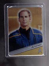 Star Trek 50th Anniversary Metal card M44  Scott Bakula as Captain Archer