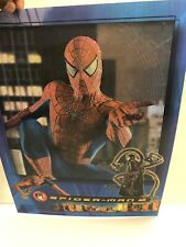 Spiderman 2 Hologram Poster Marvel Collectible Rare 2004