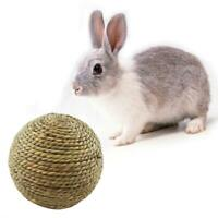 Grass Ball LC Woven Chew Rabbit Toys Toys Pet Hamster Guinea Straw Pig Natural