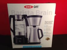 OXO Barista Brain 12 Cup Coffee Maker w/Removable Electric Kettle & Carafe