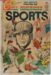 ALL AMERICAN SPORTS # 1 CHARLTON 1967