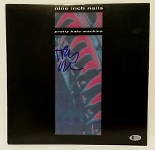 TRENT REZNOR Signed Nine Inch Nails Pretty Hate Machine Album Beckett BAS C44333