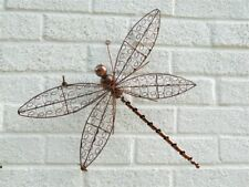Metal Wall Art DragonFly Dragonflies - Copper Wire Assorted Sizes