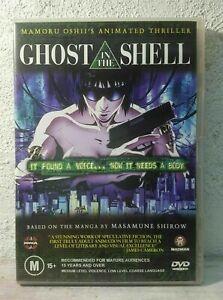 Ghost in the shell DVD 1995 Mamoru Oshii Anime Movie REG 4 RARE !!
