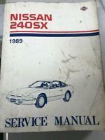1989 Nissan 240SX Service Repair Workshop Shop Manual OEM Factory Worn