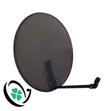 80cm Dark Grey Mesh Satellite Dish  FOR Sky, Astra, Hotbird, Sirius, Hellas Sat