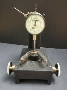 """Federal 0.0001"""" Dial Indicator & Thickness Stand Comparator Machinist Inspection"""