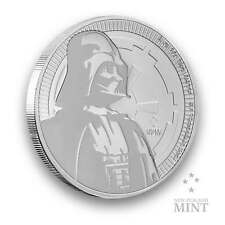 1oz Silbermünze STAR WARS™ Darth Vader™ 2017 New Zealand Mint 999 Silber