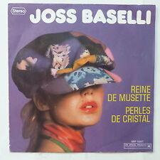 joss BASELLI Reine de musette Disque pub DANONE SSP 12007