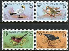 Guernsey 1978 Birds set of 4 Mint Unhinged