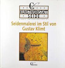 4x Seidenmalerei Seidenmalen, Stoffmalerei Bücherpaket Sammlung Dufy Miro Klimt