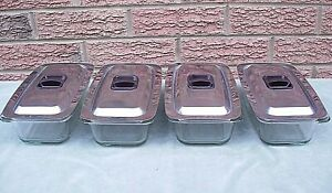"Hostess Trolley Serving Dish Genuine 2.5pt ""ECKO Hostess"" Original Dishes & Lids"