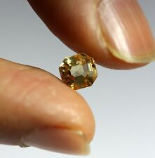 1.76 Ct Golden Yellow Natural Sapphire Loose Sri-Lanka No Heat Excellent Luster