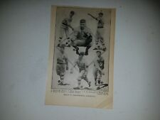 A's 1918 Team Picture Wickey McAvoy Merlin Kopp Chick Holmes Bob Geary